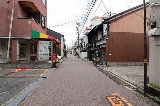 土地-金沢市片町2丁目 前面道路含む現地写真