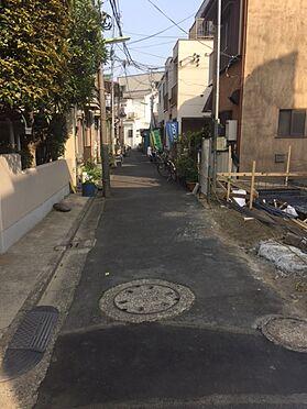 アパート-墨田区八広4丁目 前面道路