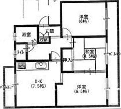 マンション(建物一部)-奈良市西木辻町 間取り