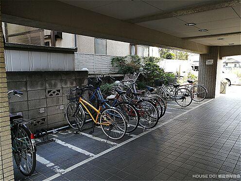 マンション(建物一部)-新座市新堀1丁目 共用部:駐輪場です