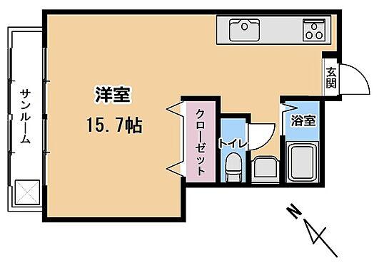 マンション(建物一部)-松戸市馬橋 間取り