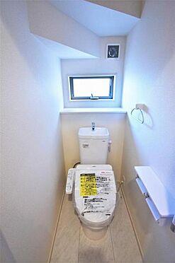 新築一戸建て-仙台市若林区南染師町 トイレ