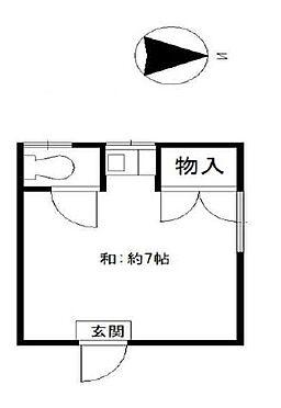 アパート-大阪市西成区梅南2丁目 間取り
