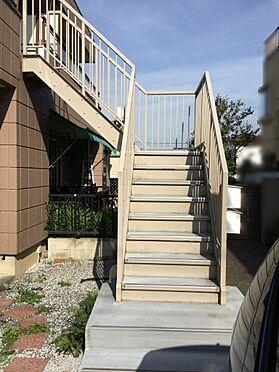 アパート-八王子市諏訪町 2階への階段