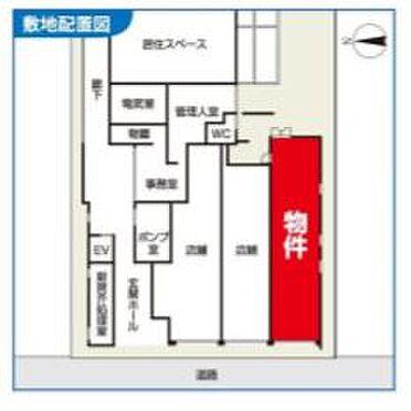 店舗事務所(建物一部)-小金井市桜町1丁目 区画図