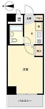 マンション(建物一部)-京都市上京区奈良物町 水まわりと居室をわけた、単身者に人気のプラン