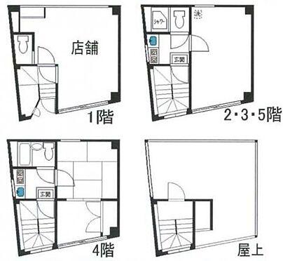 マンション(建物全部)-豊島区西池袋5丁目 間取り