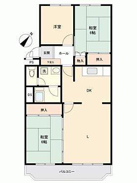 マンション(建物一部)-福岡市博多区諸岡4丁目 間取り