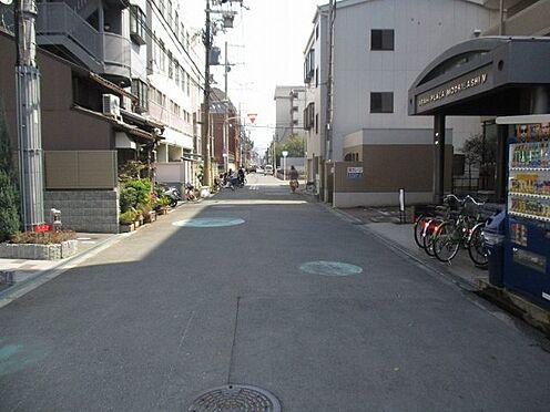 中古マンション-大阪市東成区東中本2丁目 前面道路です