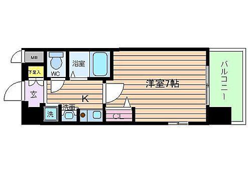 マンション(建物一部)-大阪市北区中崎1丁目 3点セパレートの1K