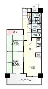 区分マンション-名取市増田2丁目 間取り