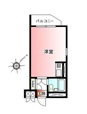 マンション(建物一部)-板橋区赤塚新町3丁目 間取り