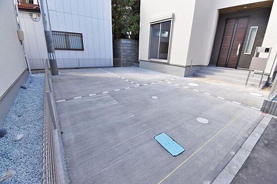 新築一戸建て-仙台市若林区南染師町 駐車場