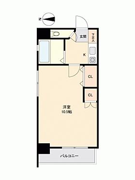区分マンション-大田区蒲田5丁目 間取り