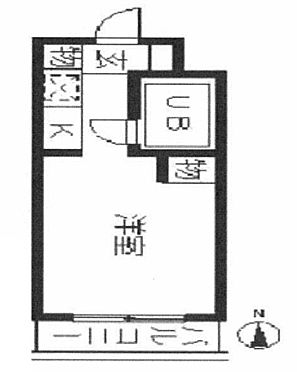 中古マンション-葛飾区高砂3丁目 間取り