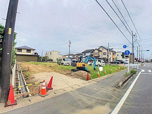 土地-西尾市戸ケ崎4丁目 一戸建ての多いエリア、静かで落ち着いた雰囲気。