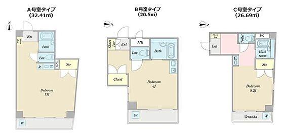 マンション(建物全部)-名古屋市中区新栄2丁目 間取り