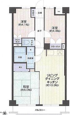 中古マンション-足立区西新井本町4丁目 間取り
