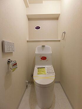 中古マンション-新潟市中央区南出来島2丁目 温水洗浄機能付きトイレ