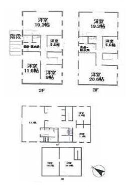 ビル(建物全部)-世田谷区駒沢2丁目 間取図
