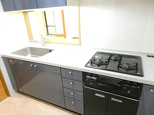 中古マンション-中央区月島4丁目 約3.1帖の対面式キッチン