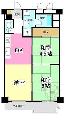 区分マンション-大阪市淀川区塚本2丁目 間取り