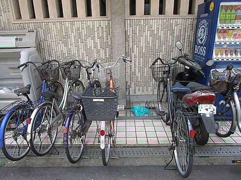 一棟マンション-大阪市東住吉区今川7丁目 駐輪場です