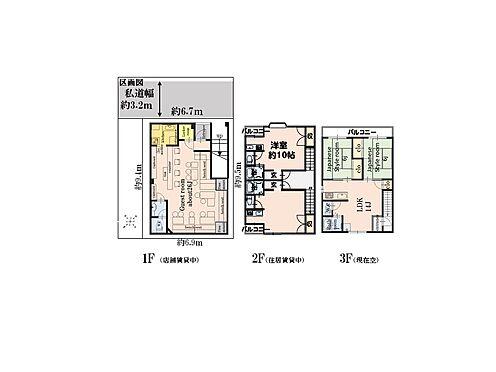 ビル(建物全部)-江戸川区西小岩1丁目 間取り