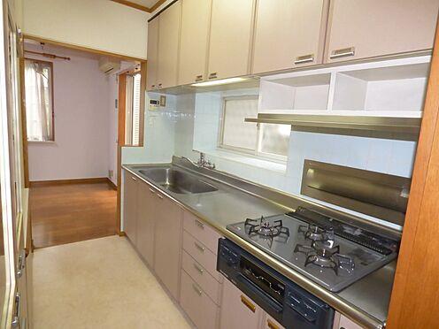 中古一戸建て-町田市金井町 1階キッチン 約3.2帖 使いやすい広さです。
