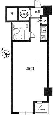 マンション(建物一部)-品川区西五反田2丁目 間取り