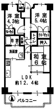 区分マンション-堺市東区日置荘田中町 南向きバルコニーで日当り・通風良好