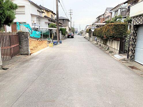 新築一戸建て-東海市加木屋町泡池 現地(2021年1月撮影)