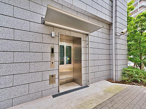 中古マンション-品川区西五反田3丁目 駐輪場への専用エレベーター