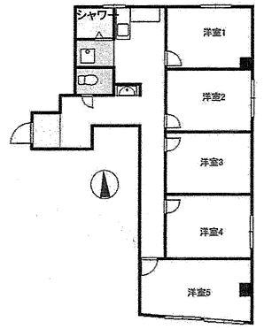 事務所(建物一部)-新宿区新宿1丁目 間取り