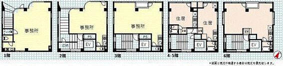 ビル(建物全部)-横浜市西区中央2丁目 間取り