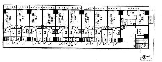 マンション(建物全部)-多摩市和田 間取り