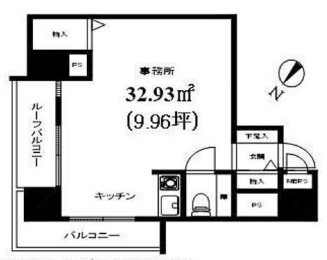 事務所(建物一部)-横浜市旭区二俣川1丁目 間取り