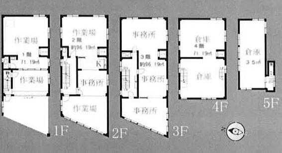 ビル(建物全部)-足立区東和3丁目 間取り