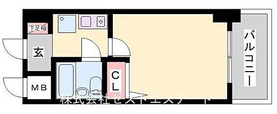 マンション(建物一部)-神戸市兵庫区湊町1丁目 収納を設けれた暮らしやすい間取り