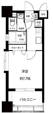 マンション(建物一部)-福岡市博多区東光2丁目 間取り