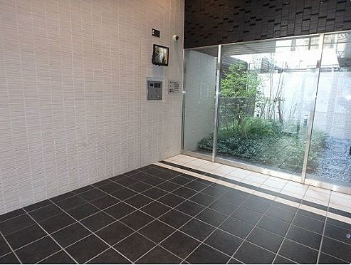 マンション(建物一部)-大阪市中央区釣鐘町2丁目 防犯カメラとオートロックがあり、防犯良し。