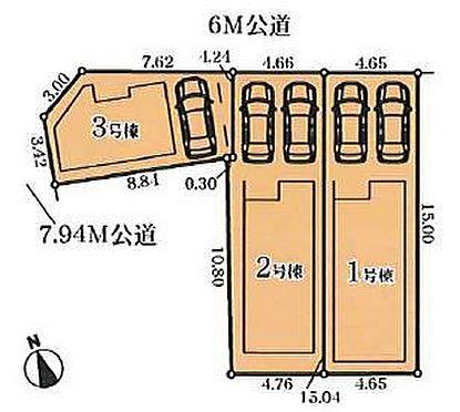 戸建賃貸-名古屋市千種区内山2丁目 地図