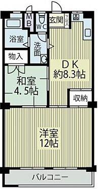 マンション(建物一部)-大阪市旭区新森1丁目 間取り