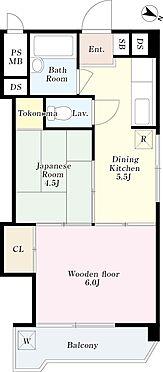 マンション(建物一部)-渋谷区本町1丁目 間取り