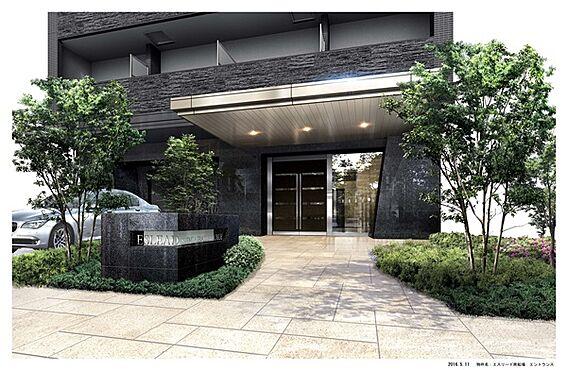 区分マンション-大阪市中央区南船場1丁目 エントランス