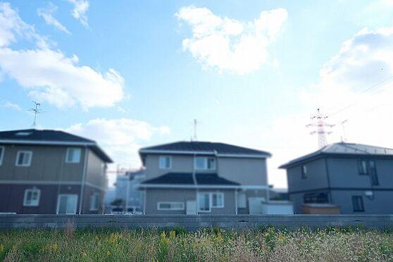 土地-富山市婦中町速星 南側の景観