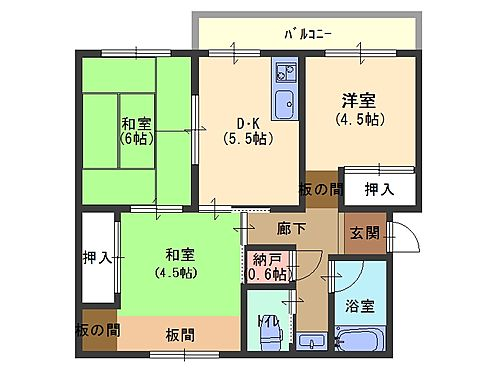 マンション(建物一部)-神戸市垂水区南多聞台8丁目 間取り