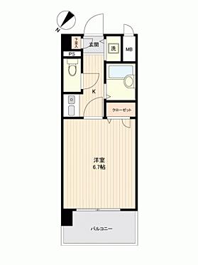 区分マンション-福岡市中央区薬院4丁目 間取り