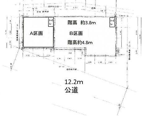 工場-三郷市小谷堀 間取り