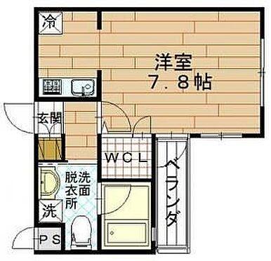 マンション(建物一部)-京都市下京区八王子町 間取り